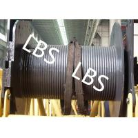Quality 250KG Small Type Wire Rope Winch Drum  with Lebus Grooving For Crane Area wholesale