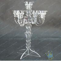 Quality CH (8) wholesale mercury Acrylic candle holders wholesale