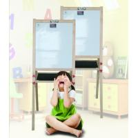 Quality Creative Folding Magnetic Whiteboard With Wooden Frame Fashionable Style wholesale