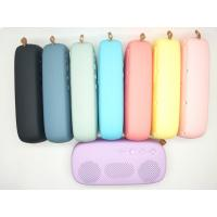 China Best Selling 6W Rubber Oli Waterproof Portable Bluetooth Speaker with FM/USB/TF card on sale