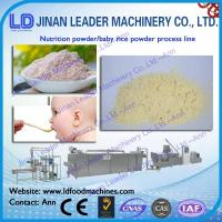 China Nutrition powder / baby rice powder process line Fruity nutrition rice noodle production on sale