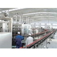 Quality Aseptic Carton Packing Beverage Filling Machine For Long Life Milk Dairy Plant wholesale