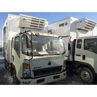 Quality Commercial Truck Refrigerators 5 Tons With FRP Sandwich Panels Box , Refrigerated Box Truck wholesale