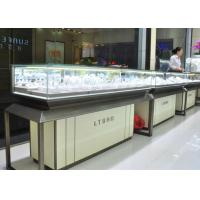 Quality Fashion Jewellery Display Counter / Jewelry Store Fixtures Customized Logo wholesale