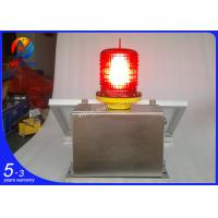 Quality AH-MS/S OEM/ODM solar powerd medium intensity 2000cd aviation obstacle lights wholesale
