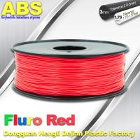 Cheap Fluorescent ABS 3d Printer Filament ABS 3D Printing Material For Desktop Printer for sale
