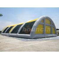 Quality 30mL*18mW*8mH Airtight Inflatable Paintball Field With Durable PVC Tarpaulin wholesale