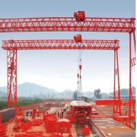 Cheap 40t fast lifting truss double girder gantry crane for Cheap trusses for sale