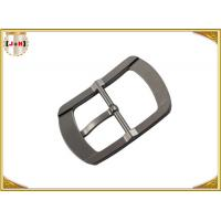 Cheap Single Pin Metal Center Bar Replacement Belt Buckles Zinc Alloy Material for sale