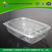 Quality 2 Compartment Food Containers , Plastic Disposable Food Container wholesale