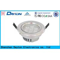 Quality 1050 LM 12W High Lumen Led Ceiling Downlights Fixtures AC85V-265V wholesale