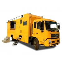 Quality King Run Mobile Kitchen Truck For Outdoor Engineering Project Camping Dining wholesale