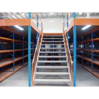 Buy cheap Cargo Stock Industrial Storage Rack , Double Storey Warehouse Pallet Rack Mezzanine product