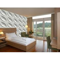 Cheap Contemporary Interior 3D Textured Wall Panels Home or Commercial Decoration Wallpaper for sale