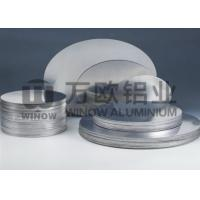 Quality High Plasticity 3004 Aluminum Disk Blanks 0.6mm Thickness ROSH Certificated wholesale