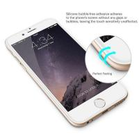 3D Curved Screen Guard Tempered Glass , Anti Broken Screen Protector IPhone 6 7 8 X