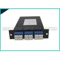 Cheap 4 Channels Fiber Distribution Panel High Efficiency For System Monitoring for sale