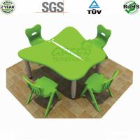 China Indoor Playground Equipments Kids Table And Chair CE TUV Certificate on sale