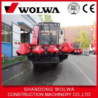 China hot sale Wolwa corn/maize combine harvester 4GN-3A on sale