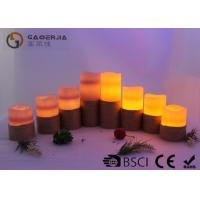 Quality Colorful Outdoor Electric Candles Set , Waterproof Flameless Candles wholesale