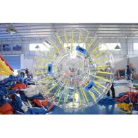 Quality PVC Or TPU Durable Inflatable Shinning Zorb Ball Used On Grassplot wholesale