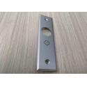 Aluminium Extrusion Profiles Silver Color Alloy 6063 T3 Anodized Aluminium Door for sale
