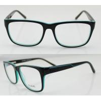 Quality Hand Made Acetate Eyeglasses Frames For Women, Blue Acetate Square Glasses Frames wholesale