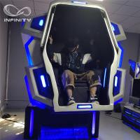 Buy cheap Funny Experience 9D VR Motion Simulator Full Immersive Amusement 4KW from wholesalers