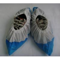 China Water Resistant Industrial Shoe Covers , Disposable Shoe Guards High Strength on sale
