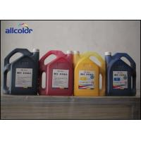 Buy cheap C M Y K Color Seiko Solvent Ink With Effective And Reactive Particle from wholesalers