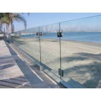Cheap Baby Guard Rail DIY Glass Pool Fencing With Tempered Glass Gate for sale