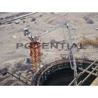 China ESSO NUTO H46 Tower Concrete Placing Boom Radio Remote Control Fast Coupling on sale