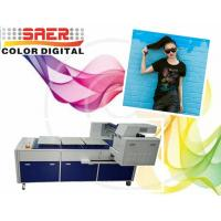 China Pigment Ink T Shirt Digital Garment Printer With Three Working Tables on sale