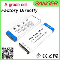 Quality Real capacity digital camera battery for CNP50 with factory price wholesale