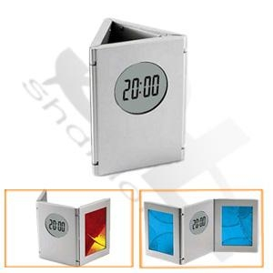 Cheap LCD Clock  With Pen Holder for sale