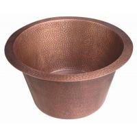 Quality Round Copper Bar Sinks wholesale