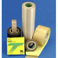 Buy cheap PTFE coated fiberglass with silicone adhesive pressure sensitive tape from wholesalers