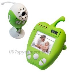 China Baby Monitors Lovely Apple 2.5 Inch Wireless Baby Minitor Lovely Apple 2.5 Inch Wireless Baby Minitor