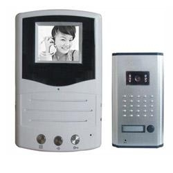 China Video Door Phones Black White Video Doorphone Black White Video Doorphone