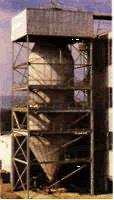 Quality Thematerial is sprayed into exiguity fog by nozzle on the topof tower. Follow the heat wind,... wholesale