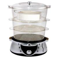 Buy cheap Food Steamer CA-123 black/silver product