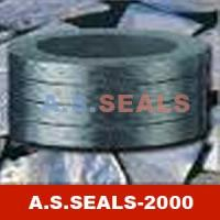 China Compression Packing Expanded graphite packing (with corrosion inhibitor) A.S.SEALS.2000(K) on sale