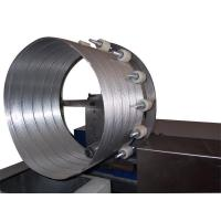 China Automatic spiral flexible aluminum foil duct machine on sale