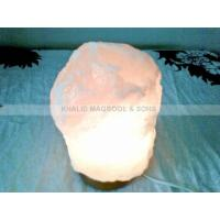 Buy cheap Crystal White Natural Salt Lamps product