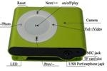 China mp3 camera with MP3 player + camera + mini DV and Support TF Card from 1GB to 8 GB RLC-665