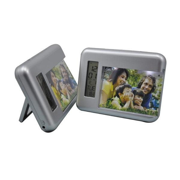 Cheap LCD clock with photoframe for sale