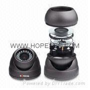 China Color Vandal/Tamper Resistance Waterproof IR/Day and Night Dome Zoom CCD on sale