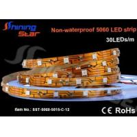 Quality 12V DC Flexible 5060 LED strip light (30LEDs/m) wholesale