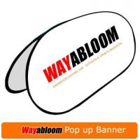 China Pop up Banner Display on sale