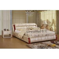 Quality 7121 stamp leather water bed wholesale